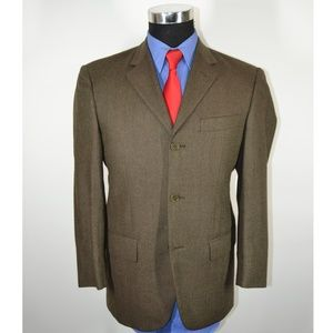 Missoni 36S Sport Coat Blazer Suit Jacket Dark Gre